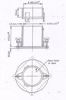 1 Litre Mould for Standard Proctor